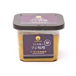 画像1: 山形県産丸大豆使用・もち米こうじ金印味噌(つぶ)750g