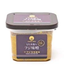 画像1: 山形県産米ササニシキと国産丸大豆使用 極上味噌(つぶ)(750g)カップ入り もち米麹入り麹歩合200の超高級味噌